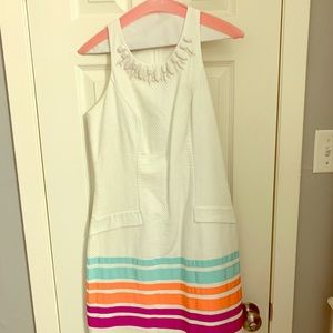 Lilly Pulitzer White Garden Party Dress